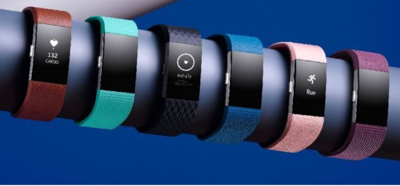 Fitbit charge 2 display