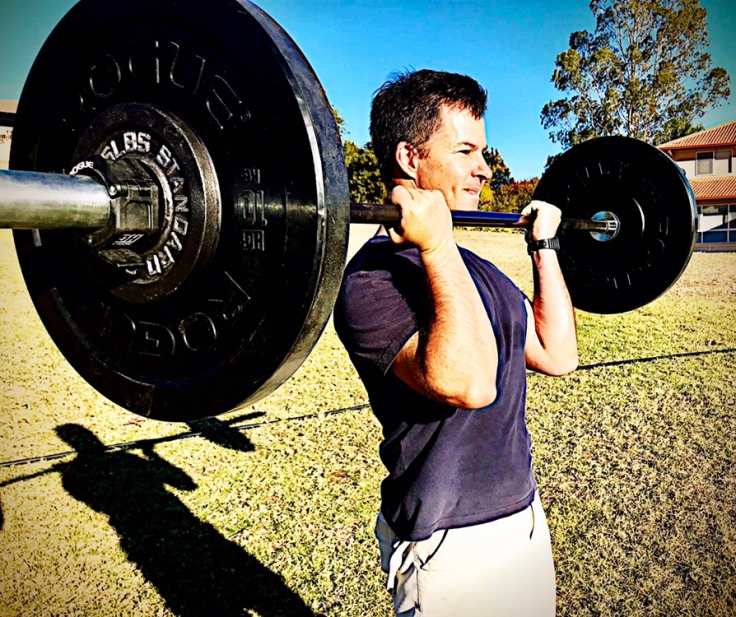 Barbell Curl Cheat