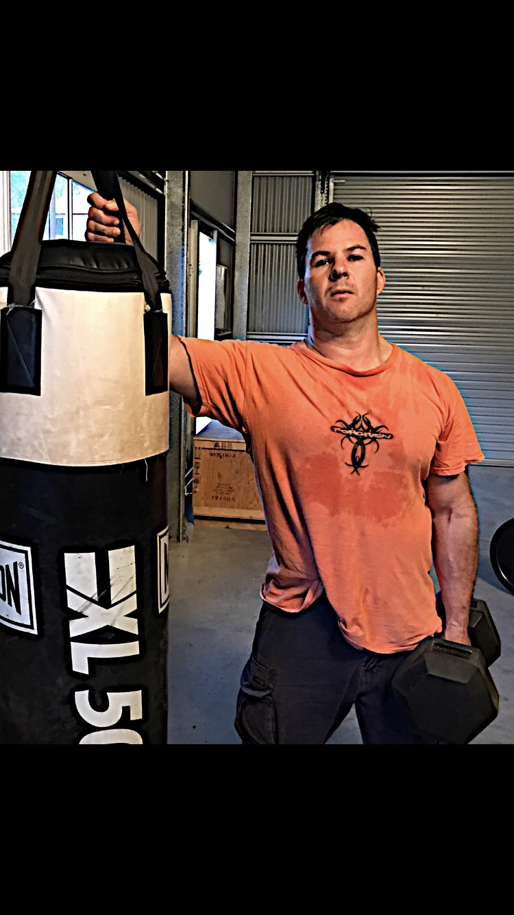 Hanging a punching bag up in your home gym can become a precursor to intensity and progress