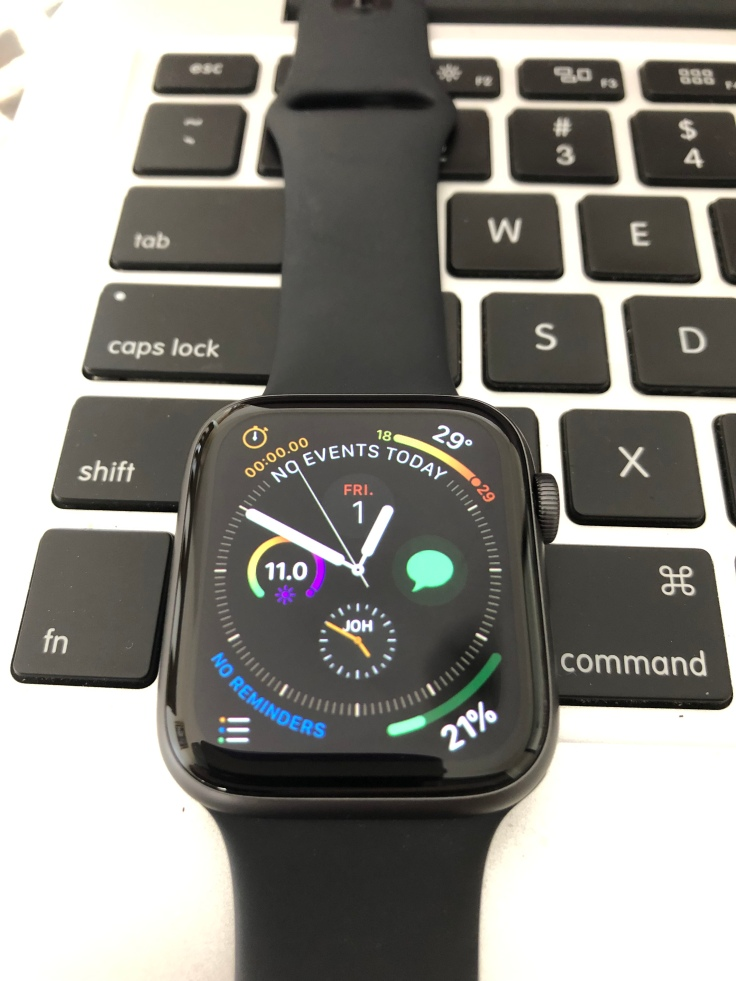 Watch face with a lot of information.
