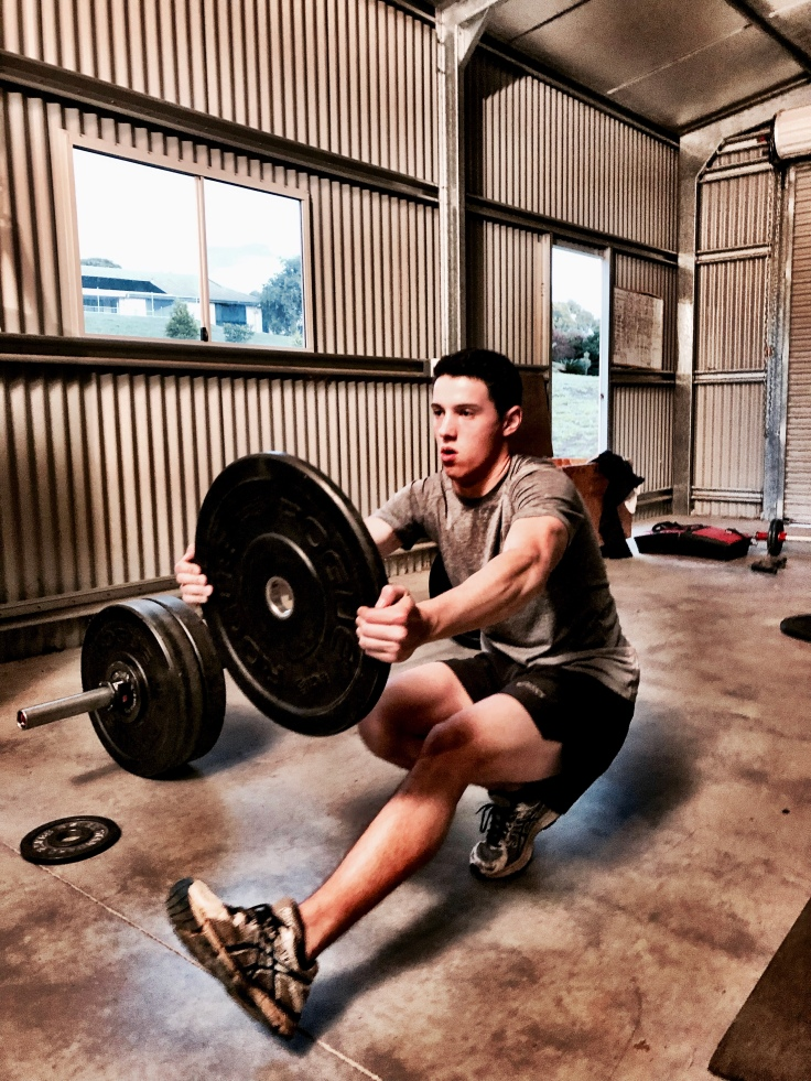 Pistol Squats with added weight